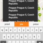 Vyhledávání lokality