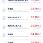 Seznam čerpacích stanic