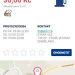 Informace o pumpě
