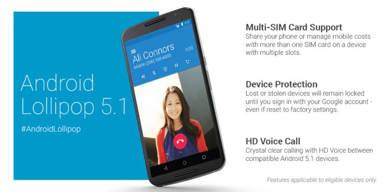 Android 5.1 přinesl funkci Zajištění ochrany zařízení