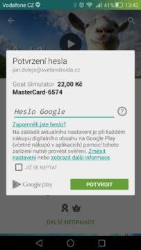 Android pro začátečníky - Google Play (3)