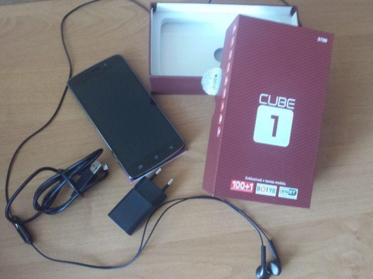 CUBE1 S700 - obsah balení