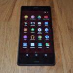 Sony Xperia Z3 s testovací ROM