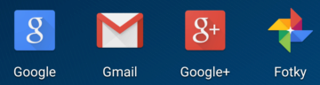 Gmail aplikace