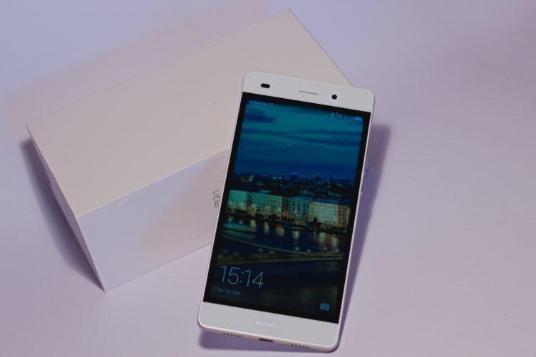 Huawei P8 Lite balení