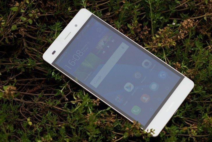 Huawei P8 Lite displej