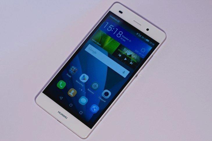 Huawei P8 Lite přední strana