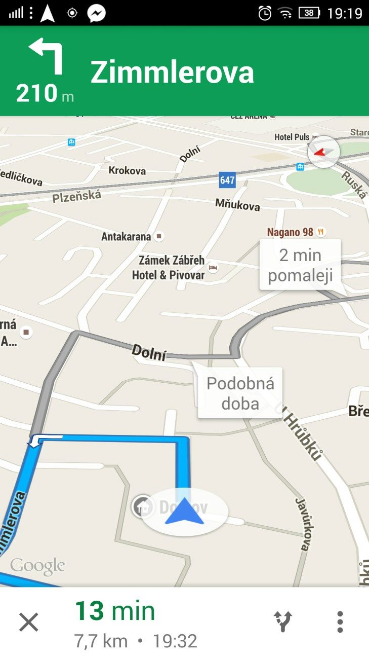 Lenovo P90 - GPS, Google Maps