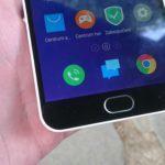 Meizu M2 Note – hardwarové a senzorové tlačítko