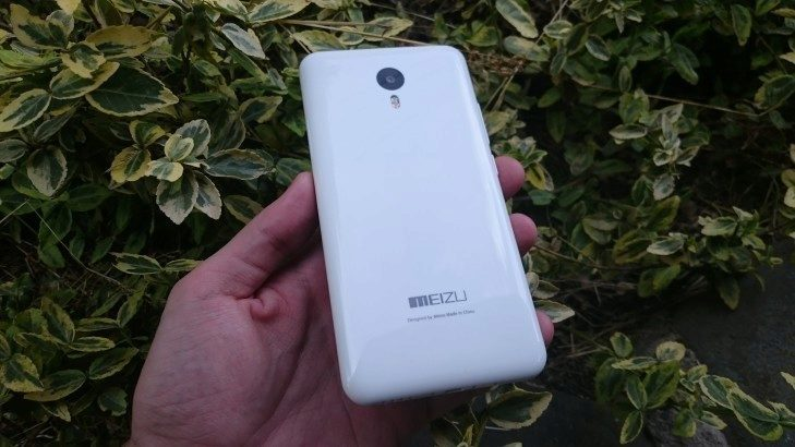 Meizu M2 Note - záda telefonu