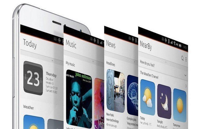 Meizu MX4 Ubuntu pro smartphony 2
