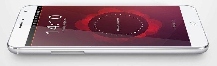 Meizu MX4 Ubuntu pro smartphony