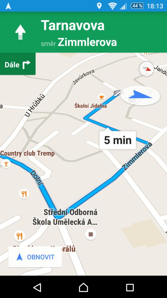 Sony Xperia Z3+ - GPS, google mapy