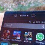 Sony Xperia Z3+-horní reproduktor