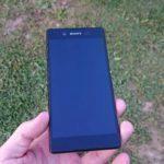 Sony Xperia Z3+ – přední strana