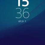 Sony Xperia Z3+ – zamykací obrazovka