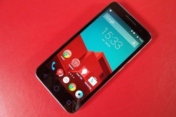 Vodafone Smart Prime 6 displej