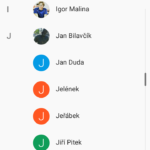 Vodafone Smart Prime 6 kontakty