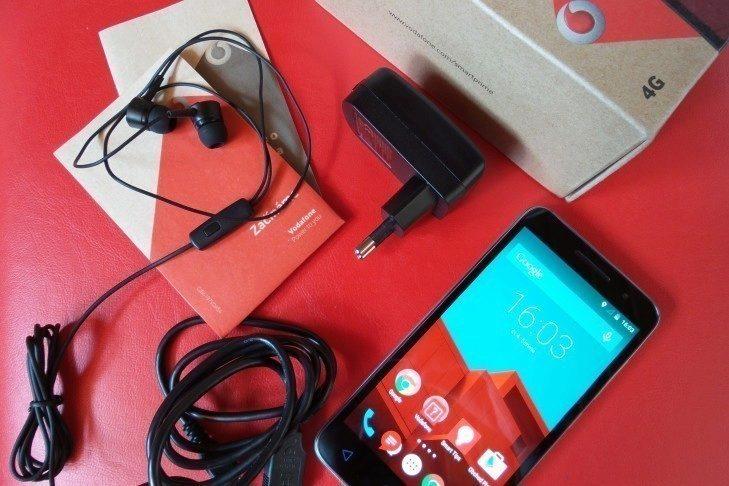 Vodafone Smart Prime 6 obsah balení