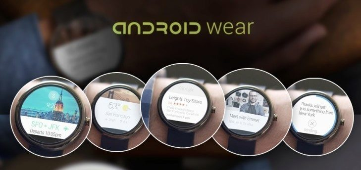 android wear android aplikace
