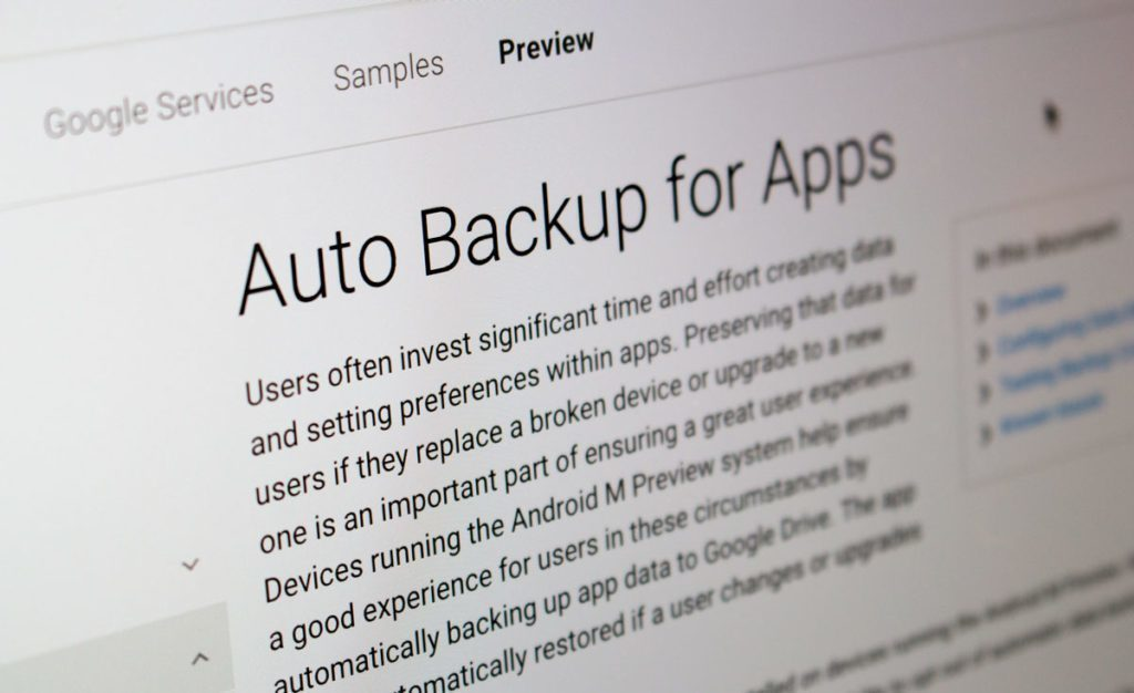 backup android m