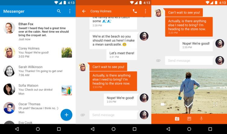 Aktualizovaný Google Messenger přináší samolepky a sdílení polohy