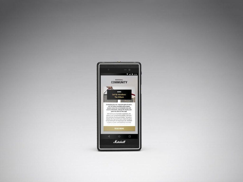 Marshall London - telefon pro pravé audiofily