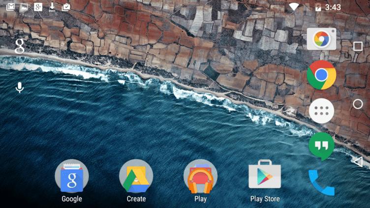Android M Developer Preview 2 umí otáčet domovskou obrazovku na telefonu