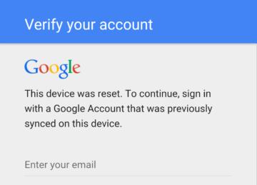 Žádost o ověření účtu Google