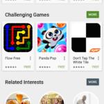 Nabídka Podobné zájmy v Obchodě Play