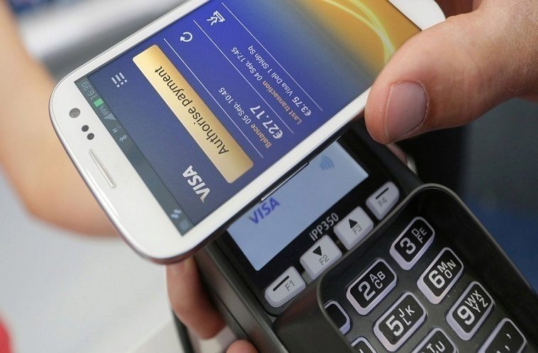 nfc platby telefonem android pay