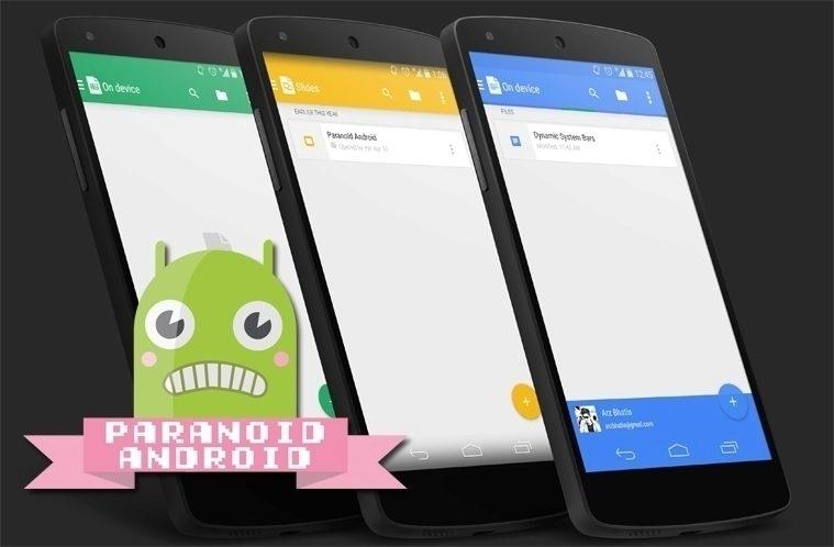 Alternativní ROM Paranoid Android ve stabilní verzi s Androidem 5 1