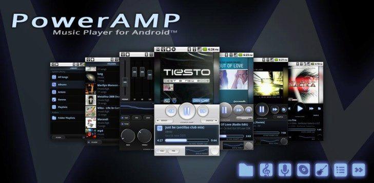 poweramp android aplikace