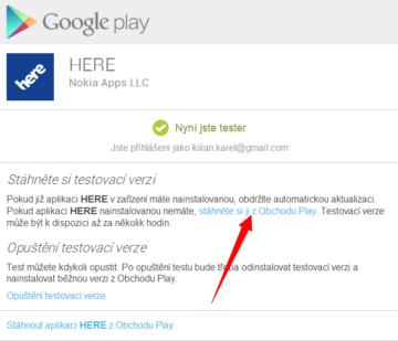 Pak již můžete stáhnout beta verzi navigace HERE
