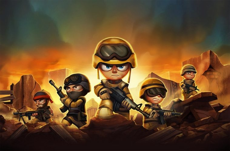 tiny troopers hlavni android hry