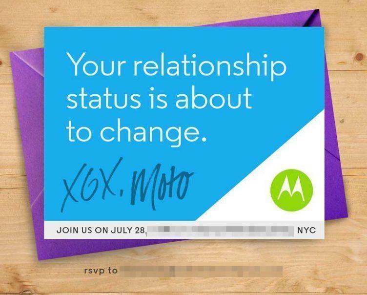Motorola rozesílá pozvánky na 28. července