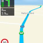 NACESTY během navigace