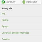 Kategorie aplikací