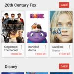 Nabídka filmů podle studií