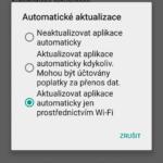 Automatické aktualizace