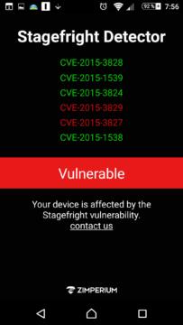 Výsledky testu: Sony Xperia Z3 je skrze Stagefright zranitelná