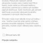 Šifrování zařízení
