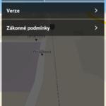 Sekce O aplikaci