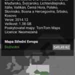 Placené mapové podklady střední Evropy