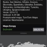 Placené mapové podklady celé Evropy