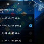 Asus Zenfone 2 – foroaparát, nastavení focení