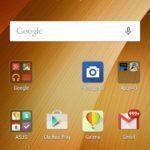 Asus Zenfone 2 – hlavní obrazovka