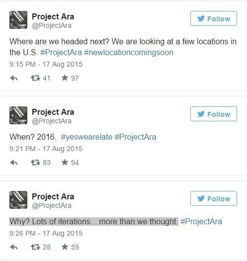 Project Ara Twitter