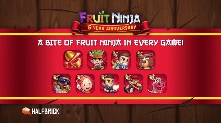 Fruit ninja 5 let