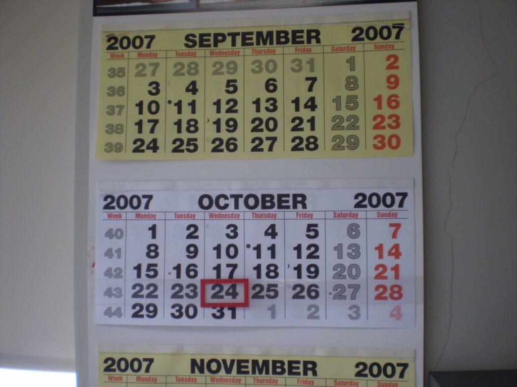 Zapomeňte na nástěnné kalendáře!